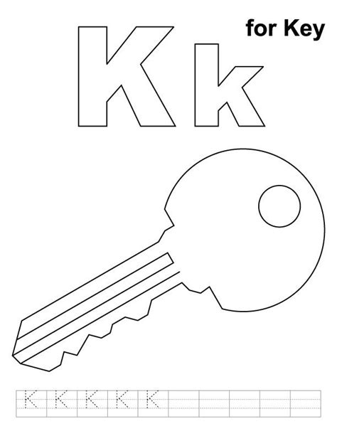 Coloring Pages Of K