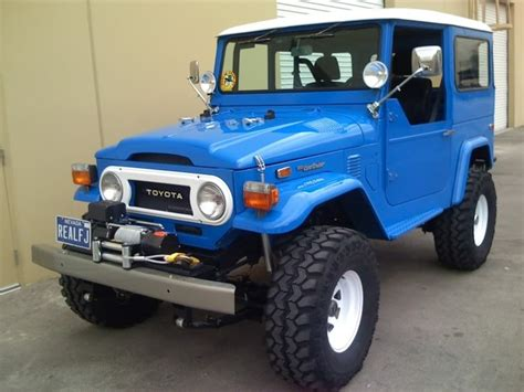 toyota geep blue fj40 toyota landcruiser quot jeep quot toyota land cruiser