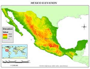 New Mexico Elevation Map by Gis 4043 L Week 3 Quot You Boys Like Mexico Quot Jake S Gis Blog
