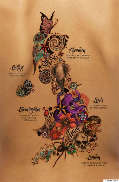 geometric tattoo england this is the most tattooed city in the uk