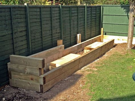 Cheap Railway Sleepers Uk by Cheap Railway Sleepers 28 Images Les Mable S Raised