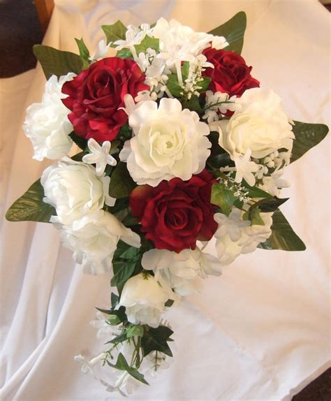 Bouquet Flower Arrangement For Wedding by Wedding Bouquets Silk Flower Wedding Bouquets