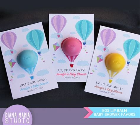 eos template for baby shower favors eos lip balm air balloon baby shower favors eos lip balm
