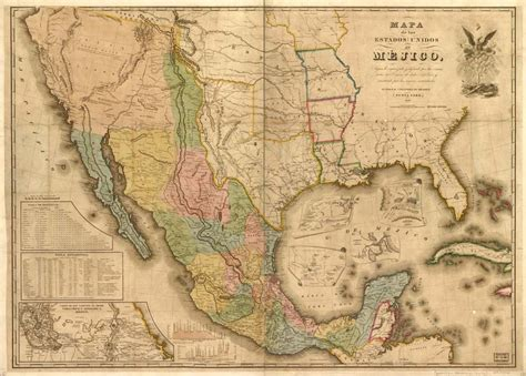 map us before mexican war map of the mexican war