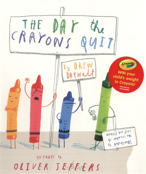 the day the crayons 0007513763 the day the crayons quit by daywalt drew 9780007513765 brownsbfs