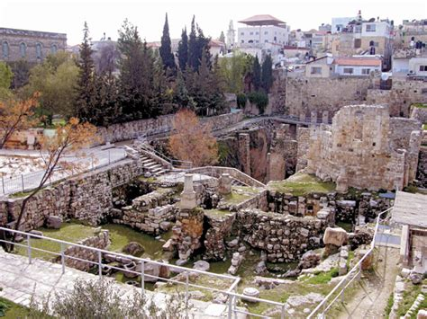 biblical archaeology what did jesus look like the bethesda pool site of one of jesus miracles