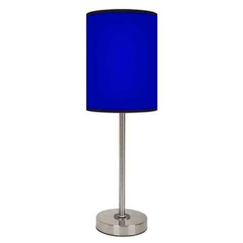 Blue Home Decor Accessories solid royal blue lamp free shipping