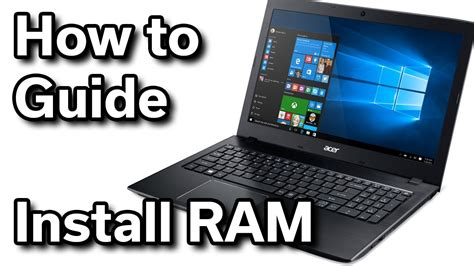 system ram upgrade acer aspire e15 550 windows laptop