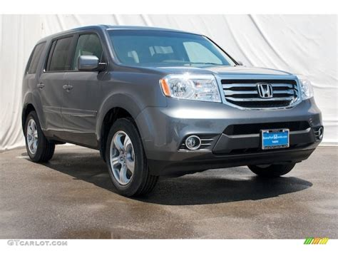 grey honda pilot 2012 polished metal metallic honda pilot ex 67900941