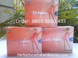 Ladyfem Atasi Haid Tidak Teratur Kista Keputihan Merapatkan Miss V herbal kesehatan wanita home