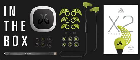 Jaybird X2 Black Original Murmer 2 jaybird s new apple compatible x2 in ears sport enhanced bluetooth audio 9to5toys