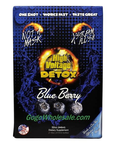 High Voltage Detox Pills Reviews by High Voltage 32oz Detox Quot Back In Stock Quot