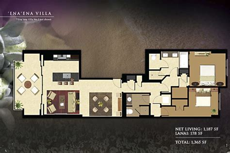 beach club villas floor plan ko olina beach villas photo gallery ko olina beach