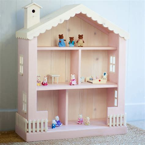 cottage dollhouse bookcase modern toys and