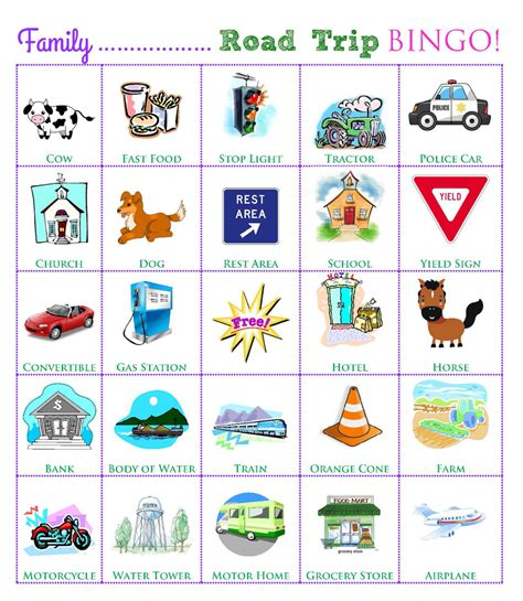 printable road trip games for preschoolers travel week road trip games