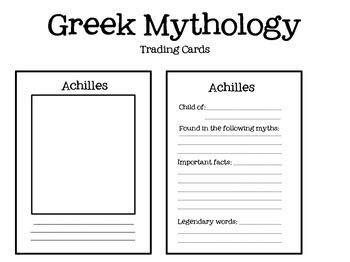 gods trading cards template mythology trading cards mythology trading cards