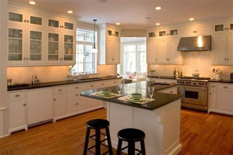 adding kitchen cabinets to existing cabinets kitchen dark counters light floors for home renos