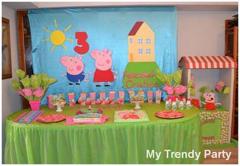 peppa pig fiesta de fiesta peppa pig my trendy party