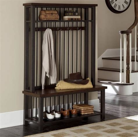 eye catching entryway benches   home digsdigs