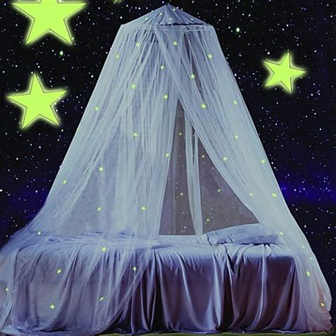 blue bed canopy glow in the dark canopy bed bath beyond