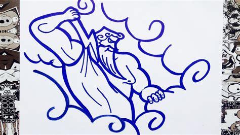 imagenes de dios zeus para dibujar como dibujar a zeus how to draw zeus como desenhar