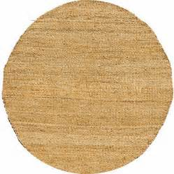 Round Rugs 8 Ft Home Accents Jute Natural Hand Woven Round Rug Rugs Gr