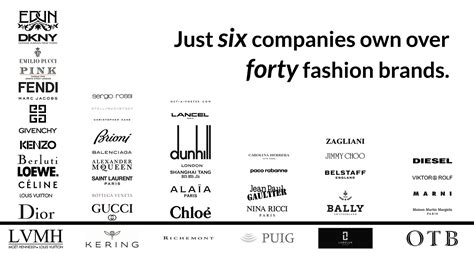 top luxury designer brands see how these six corporations the luxury fashion