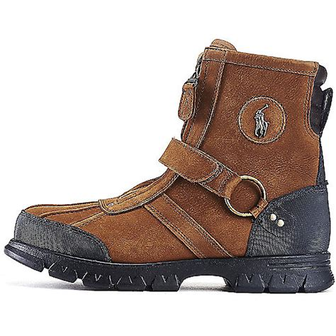polo casual boots for s casual rugged boot conquest iii brown shiekh shoes