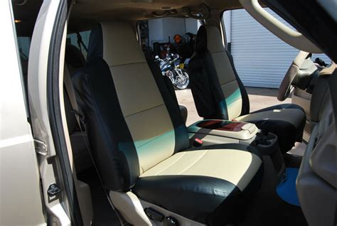seat covers for ford excursion ford excursion 2000 2005 iggee s leather custom seat cover