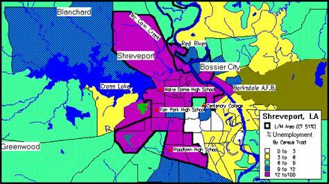 louisiana points of interest map shreveport consolidated plan executive summary