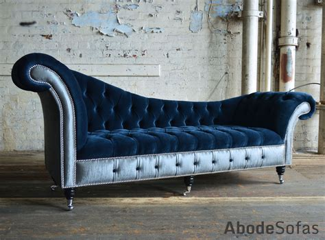 Chaise Longue Chesterfield by Bespoke Chesterfield Chaise Lounge Sofa Commissioned By