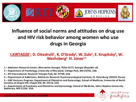 Social Detox Ga by Influence Of Social Norms And Attitudes On Use And
