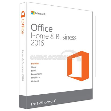 Office Home And Business 2016 Microsoft Office Home Business 2016 Retail Ocuk