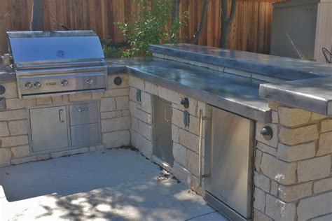 Concrete Countertops Sacramento by Recent Outdoor Kitchen Projects Sacramento Quality Family Time