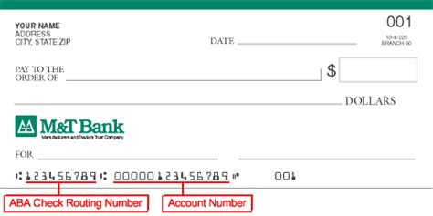 Bank Routing Number Lookup M T Routing Number And Code Banking