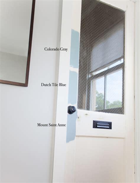 hallway door makeover the lettered cottage