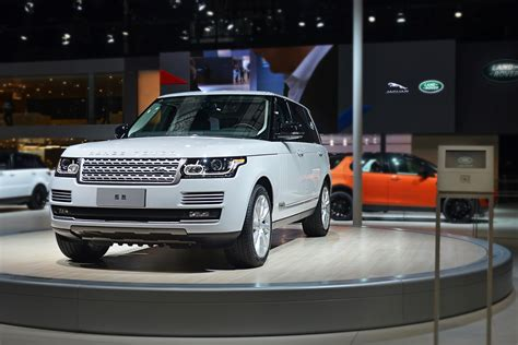 Land Rover celebrates 6,000,000 cars built in China Range Rover Car Logo