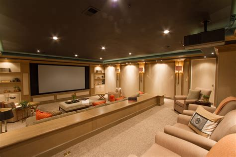 Cool Home Theater Items Decorating Ideas Images in Home Theater Traditional design ideas