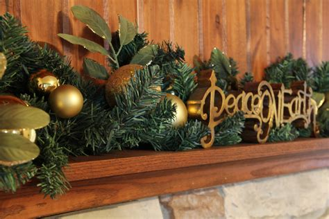 decorative ornaments for the home lovely little life christmas mantel decor