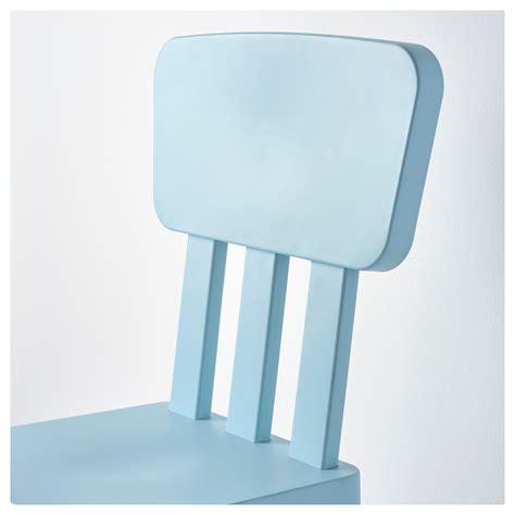 Ikea Outdoor Light Mammut Children S Chair In Outdoor Light Blue Ikea