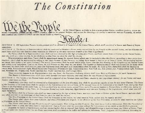 article 1 section 6 of the constitution constitution article iv politics plus