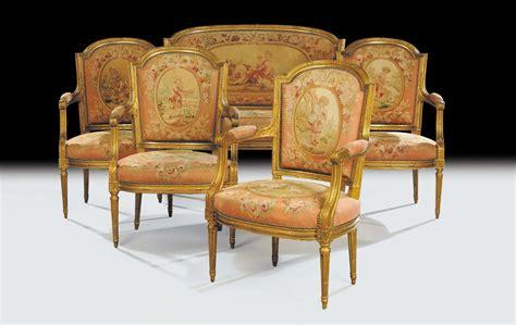 poltrone stile luigi xvi salotto in stile luigi xvi composto da quattro poltrone e