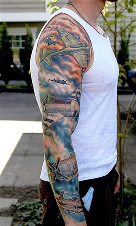 air force tattoos for men air sleeve tattoos www pixshark images