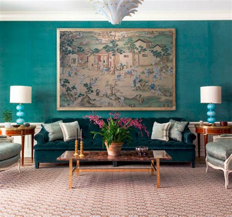 turquoise walls bedroom turquoise wall living room markham roberts simplified bee
