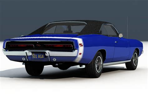 charger models 1969 dodge charger rt vue 3d models