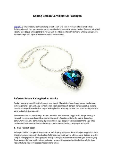 Gelang Untuk Pasangan kalung berlian cantik untuk pasangan