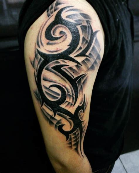 tribal sleeve tattoo for men 25 tribal arm designs ideas design trends