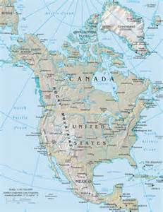 Google Maps America by North America Google Maps World Gazetteer Amp Google Route