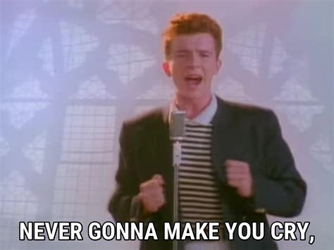 Rick Astley Never Gonna Give You Up Meme - download rick rolled video