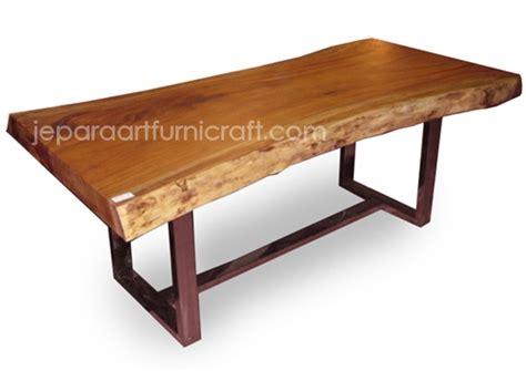 design nama meja paling laris meja makan minimalis trembesi stainless murah